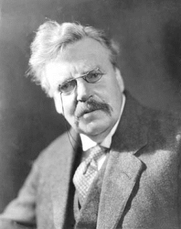Portrait of G. K. Chesterton