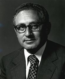 Portrait of Henry Kissinger