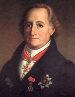 Portrait of Johann Goethe