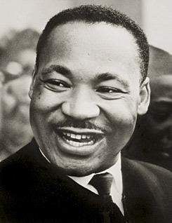 Portrait of Martin Luther King Jr.