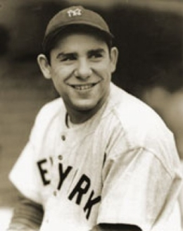 Portrait of Yogi Berra
